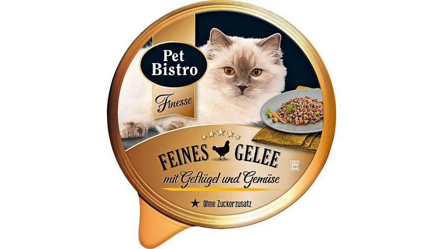 Pet Bistro Katzennassfutter Finesse mit Gefluegel und Gemuese