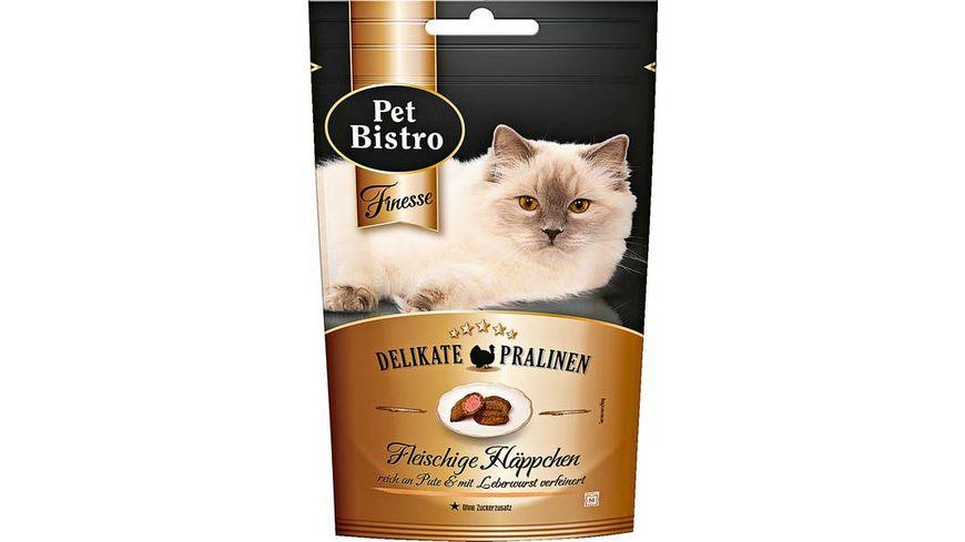 Pet Bistro Katzensnack Finesse delikate Pralinen fleischige Haeppchen