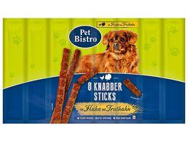 Pet Bistro Hundesnack Knabbersticks mit Huhn und Truthahn