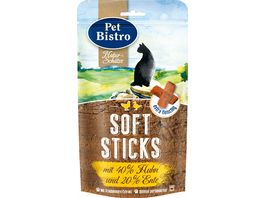 Pet Bistro Katzensnack Naturschaetze Mini Sticks Mix