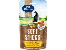 Pet Bistro Katzensnack Soft Sticks mit Huhn und Ente