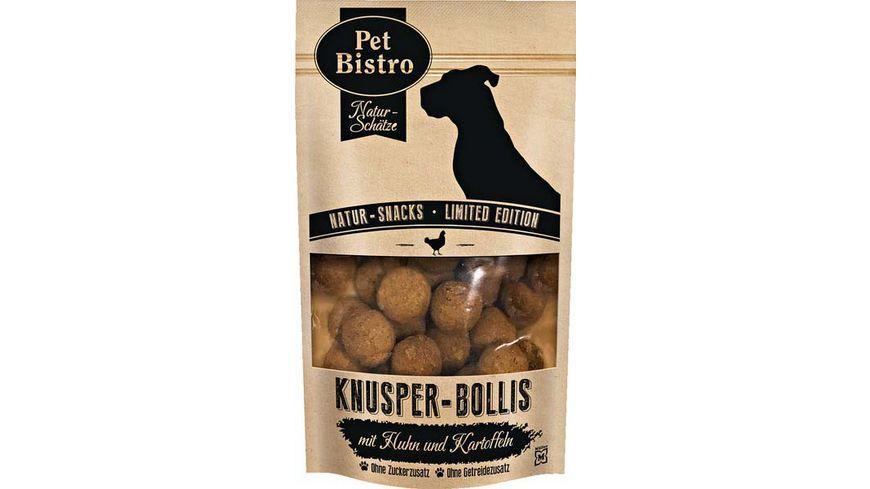 Pet Bistro Hundesnack Knusper Bollies mit Huhn und Kartoffeln