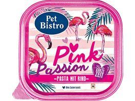 Pet Bistro Katzennassfutter Pink Passion Pasta mit Rind