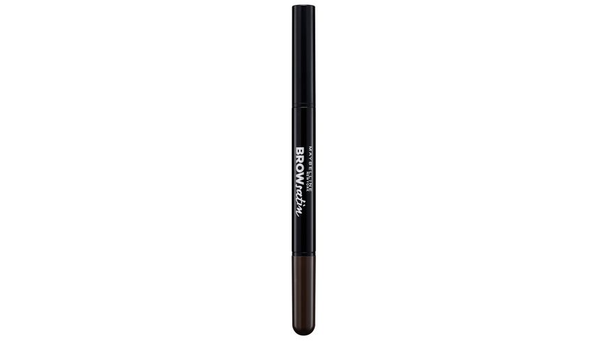 MAYBELLINE NEW YORK Brow Satin Puder Liner in Black Brown