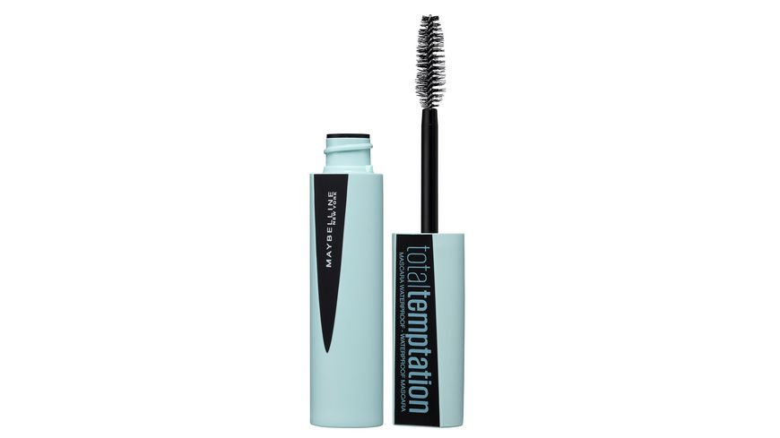 MAYBELLINE NEW YORK Total Temptation Mascara in Black Waterproof