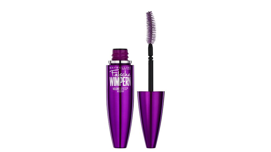 MAYBELLINE NEW YORK Volum Express Falsche Wimpern Mascara in Very Black