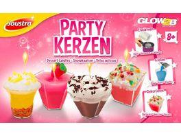 GLOW2B Joustra Partykerzen im Koffer
