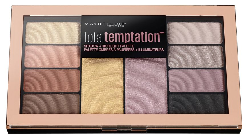 MAYBELLINE NEW YORK Total Temptation Lidschatten Palette