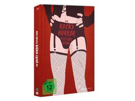 The Rocky Horror Picture Show OmU Blu ray Mediabook inkl 20 Seitiges Booklet