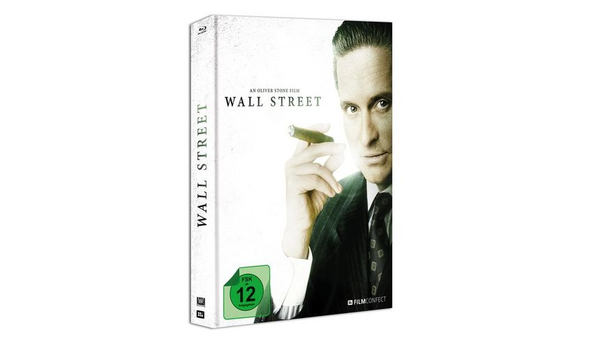 Wall Street Blu ray Mediabook inkl 20 Seitiges Booklet