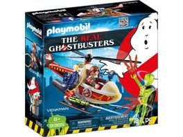 PLAYMOBIL 9385 Ghostbusters Venkman mit Helikopter