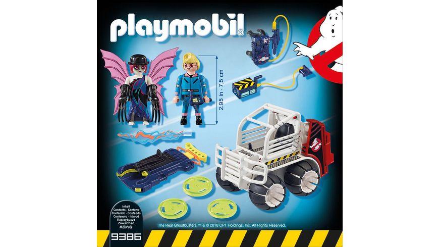 PLAYMOBIL 9386 Ghostbusters Spengler mit Kaefigfahrzeug