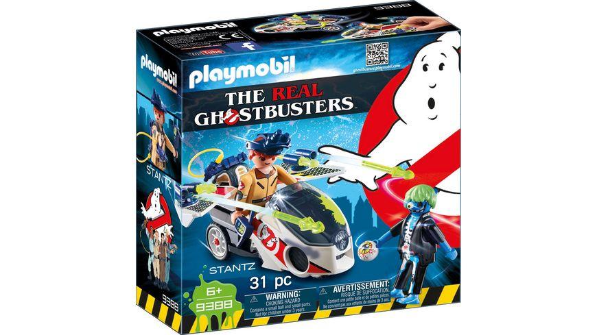 PLAYMOBIL 9388 Ghostbusters Stantz mit Flybike