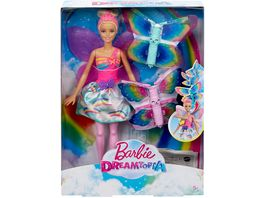 Mattel Barbie Dreamtopia Magische Fluegel Fee Puppe