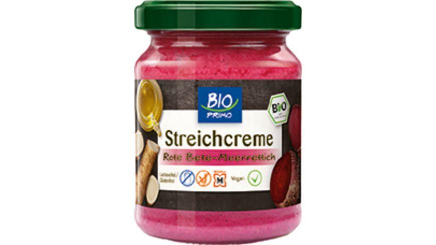 BIO PRIMO Streichcreme Rote Beete mit Meerrettich