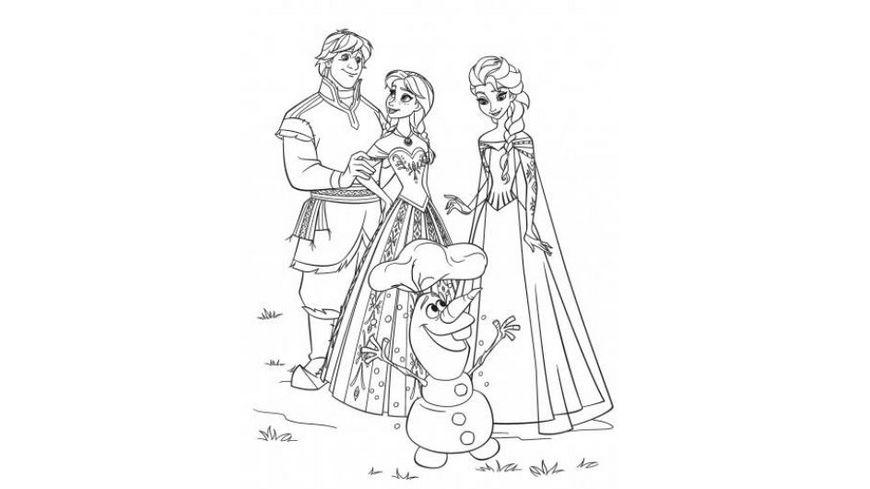 Crayola Disney Frozen Mal Stickerbuch