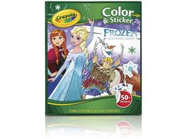 Crayola Disney Frozen Mal Stickerbuch