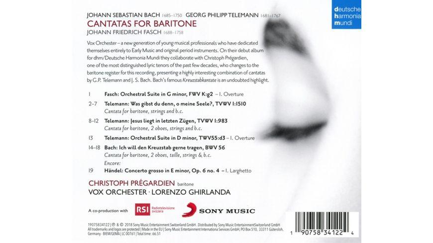 Cantatas for Baritone Kreuzstabkantate