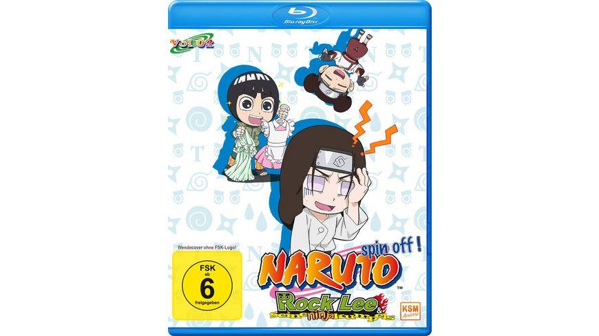 Naruto Spin Off Rock Lee und seine Ninja Kumpels Volume 2 Episode 14 26 2 BRs