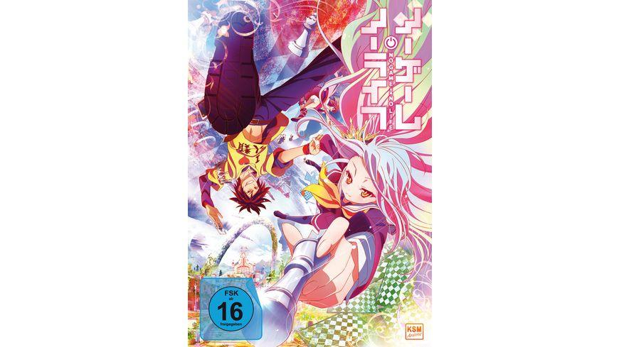 No Game No Life Die komplette Serie in einer Edition Episoden 01 12 3 DVDs