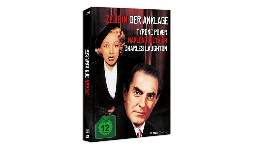 Zeugin Der Anklage  (MEDIABOOK)