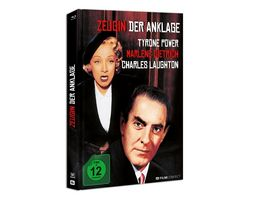 Zeugin Der Anklage Blu ray Mediabook inkl 20 Seitiges Booklet