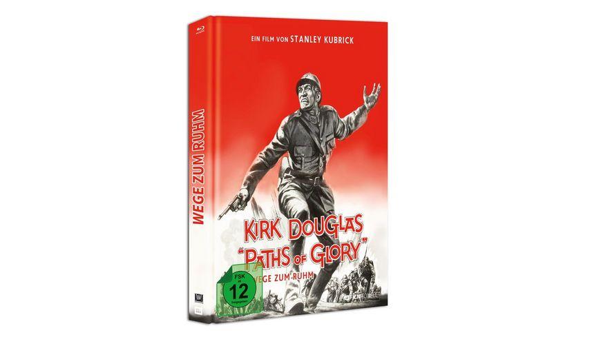 Wege Zum Ruhm Paths Of Glory Blu ray Mediabook inkl 20 Seitiges Booklet