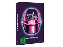 Der Tag An Dem Die Erde Still Stand Blu ray Mediabook inkl 20 Seitiges Booklet