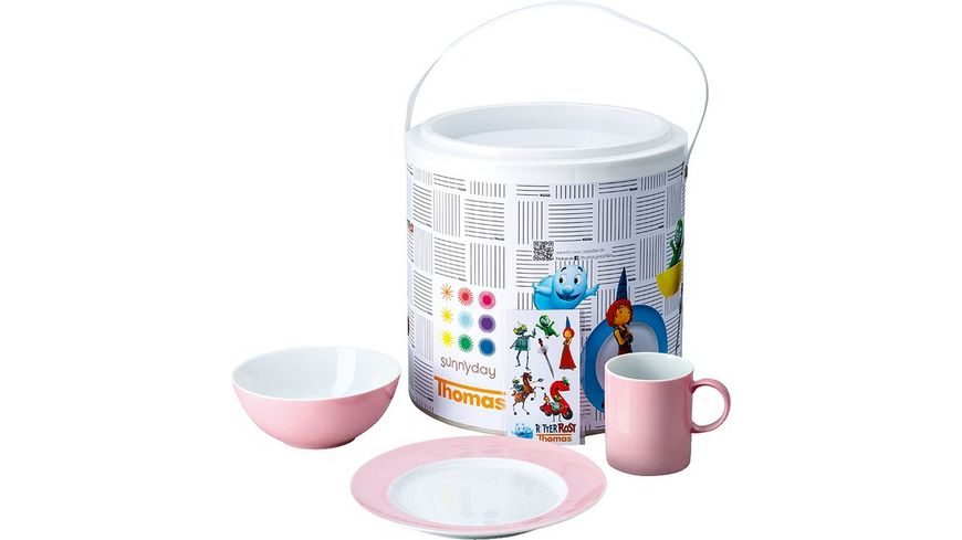 Thomas Sunny Day Kinderset pink 3 tlg