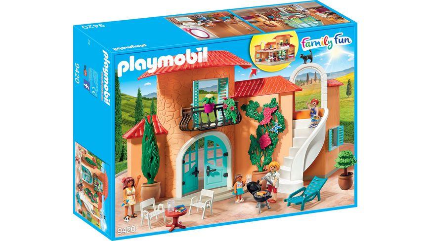 PLAYMOBIL 9420 - Family Fun - Sonnige Ferienvilla