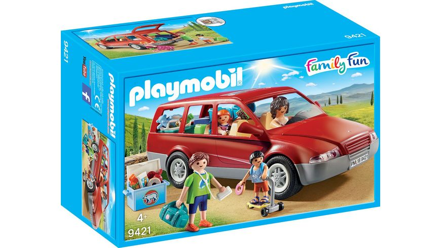PLAYMOBIL 9421 Family Fun Familien PKW