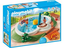 PLAYMOBIL 9422 Family Fun Swimmingpool