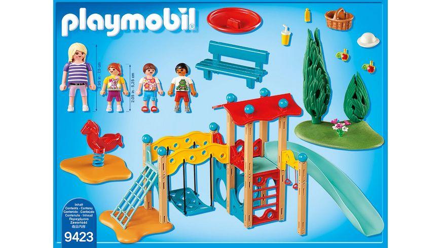 PLAYMOBIL 9423 Family Fun Grosser Spielplatz