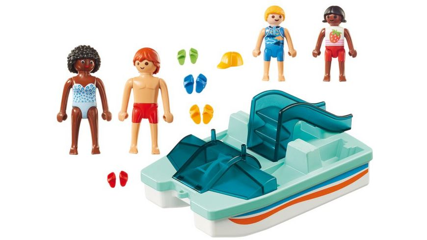 PLAYMOBIL 9424 Family Fun Tretboot