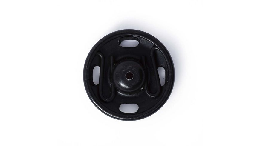 Prym Annaehdruckknoepfe 15 mm schwarz
