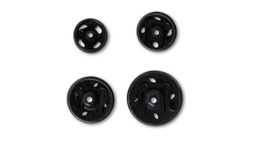 Prym Annaehdruckknoepfe 6 11 mm schwarz
