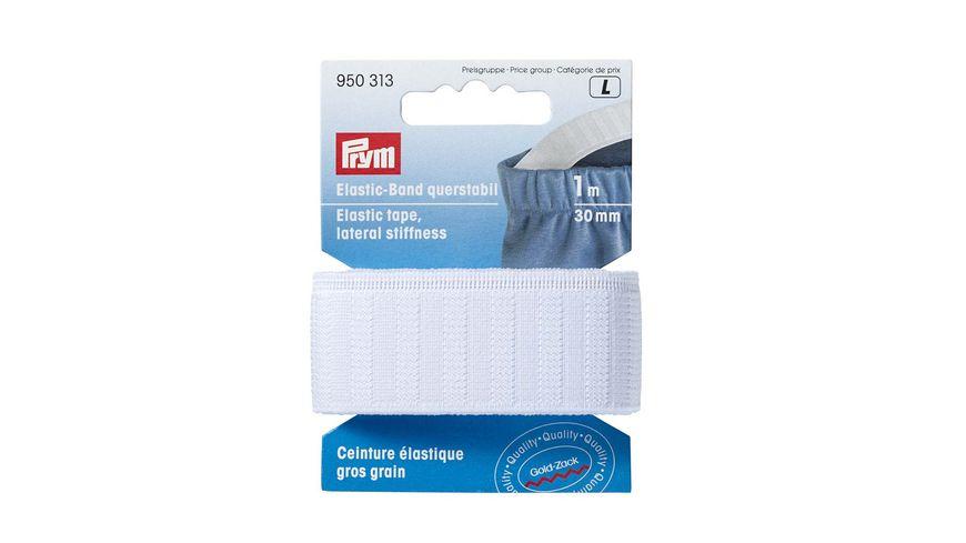 Prym Elastic-Band querstabil 30 mm weiß