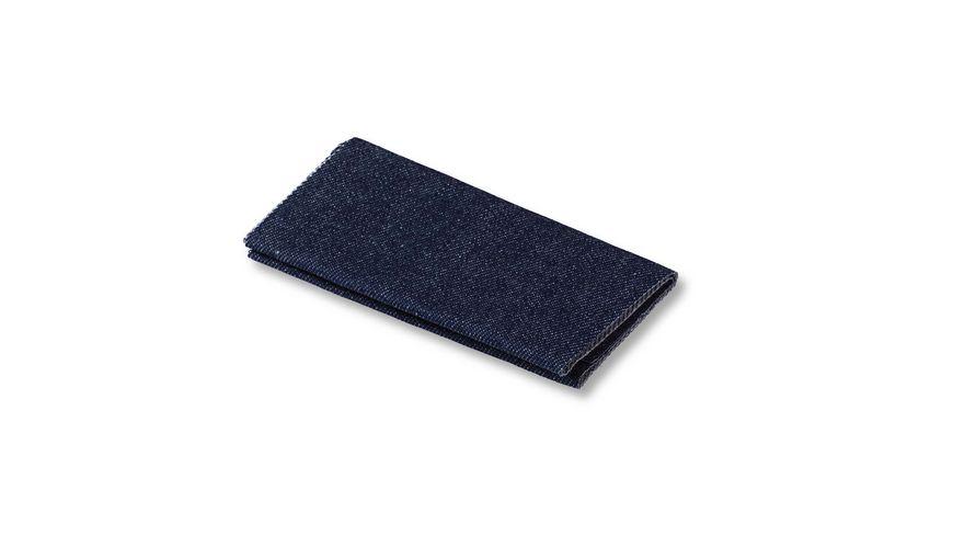 Prym Flickstoff Jeans buegeln 12 x 45 cm dunkelblau