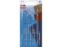 Prym Handwerkernadel Sortiment klein Stahl silberfarbig