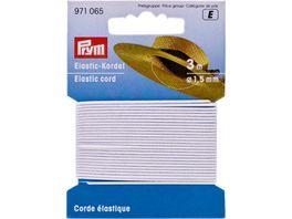 Prym Elastic Kordel 1 5 mm weiss