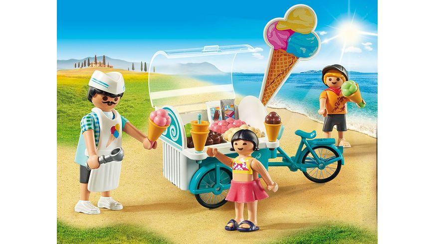 PLAYMOBIL 9426 Family Fun Fahrrad mit Eiswagen
