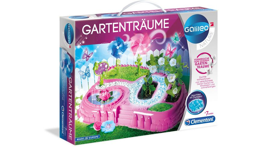 Clementoni Galileo Gartentraeume