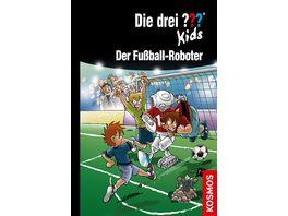Buch KOSMOS Die drei Kids 75 Der Fussball Roboter