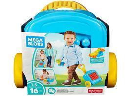 Fisher Price Mega Bloks Baustein Rollkoffer