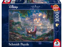 Schmidt Spiele Erwachsenenpuzzle Thomas Kinkade Disney Rapunzel 1000 Teile
