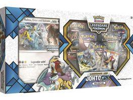 Pokemon Sammelkartenspiel Kollektion Legenden aus Johto GX
