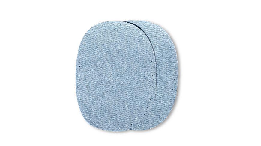 Prym Jeans Patches buegeln 10 x 14 cm hellblau