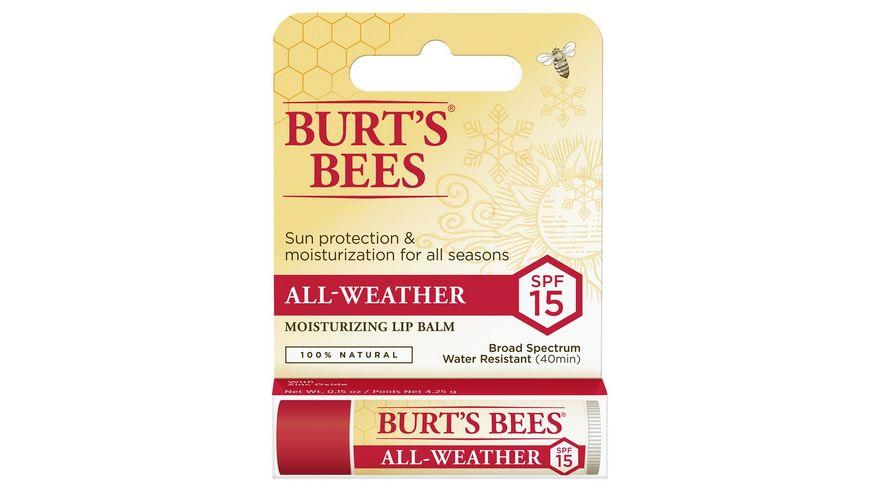 BURT S BEES All Weather Lip Balm LSF15