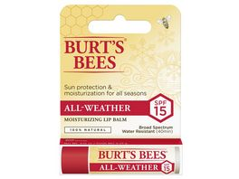 BURT S BEES All Weather Lip Balm LSF15