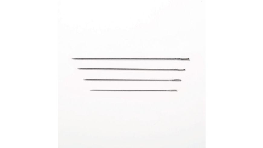Prym Crewel Stopfnadeln lang Staerke 3 9 silberfarbig goldfarbig
